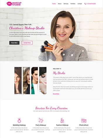 website designs for small business